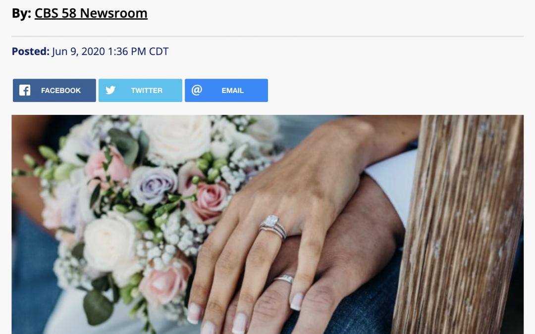 CBS58 Features Milwaukee's First Virtual Wedding Show