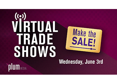 Make the Sale! Plum Media to Host Webinar on Virtual Trade shows