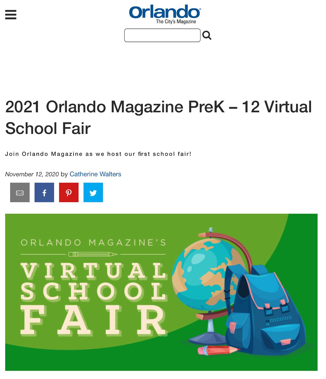 Orlando Florida Virtual Event