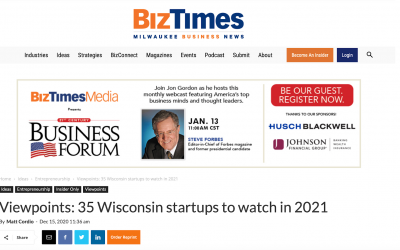BoothCentral featured in BizTimes' 35 Wisconsin Startups to Watch